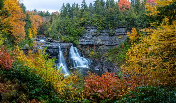 Blackwater Falls apmi 1906 by Artistic Photography