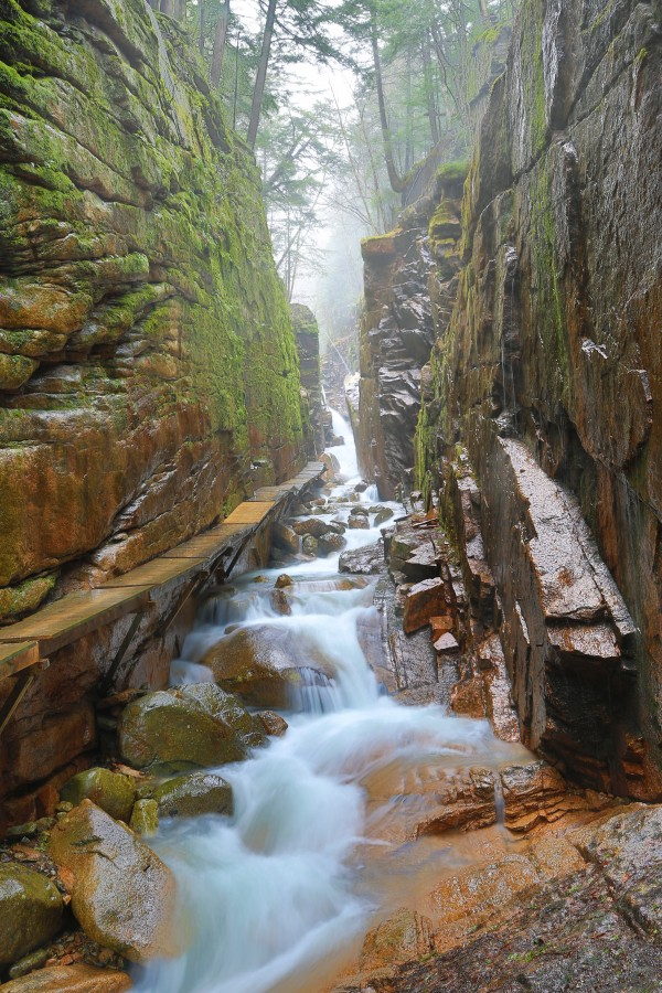 Flume Gorge ap 2202 by Artistic Photography