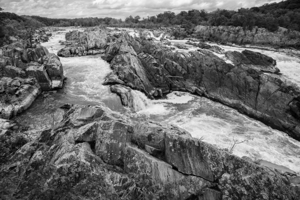 Great Falls ap 2019 B&W by Artistic Photography