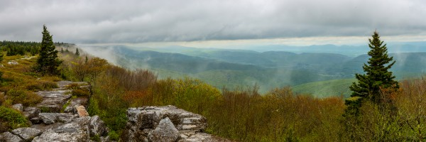 Overlooking Petersburg  WV apmi 1670 by Artistic Photography