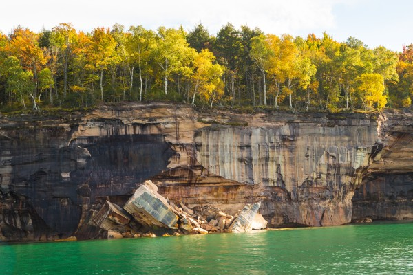 Pictured Rocks ap 2503 by Artistic Photography