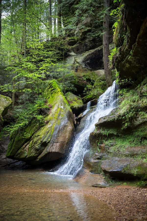 Queer Creek Gorge ap 2061 by Artistic Photography