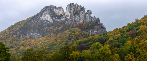 Seneca Rocks apmi 1882 by Artistic Photography