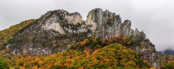 Seneca Rocks apmi 1886 by Artistic Photography