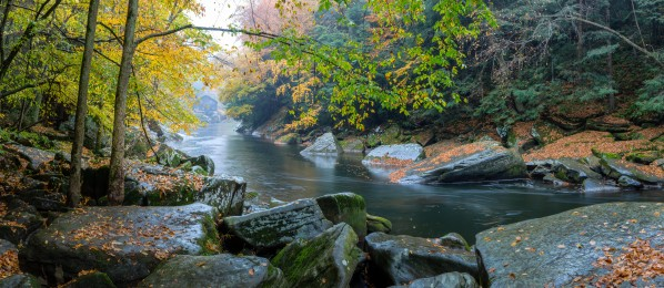 Slippery Rock Creek apmi 1934 by Artistic Photography