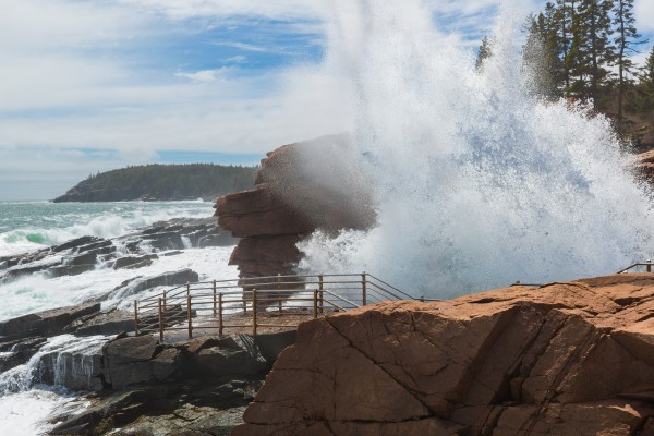 Thunder Hole ap 2365 by Artistic Photography