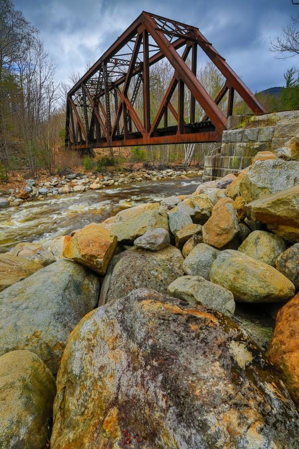 Train Bridge ap 2225 by Artistic Photography