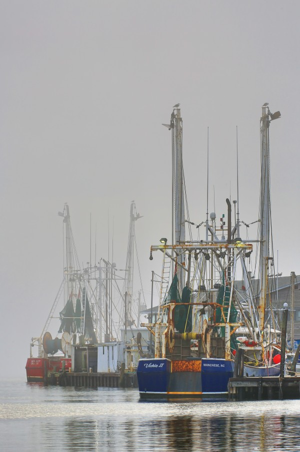 Trawlers in Fog ap 2110 by Artistic Photography