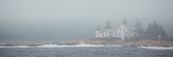 Winter Harbor Light ap 2306 by Artistic Photography