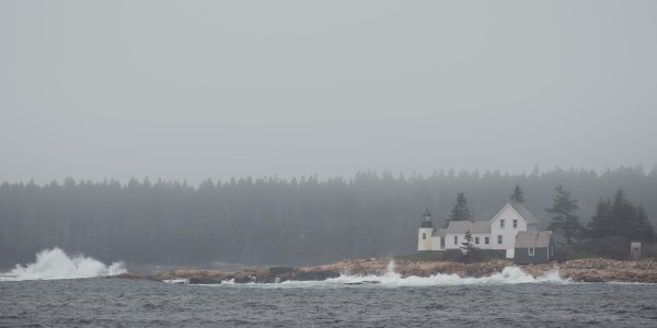 Winter Harbor Light ap 2307 by Artistic Photography