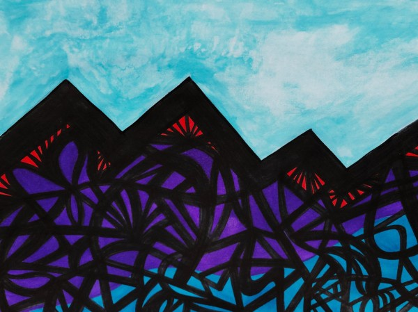 Peaks n Fluff by Artschild