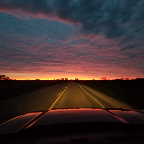 Morning Drive by Ashley Schroeder