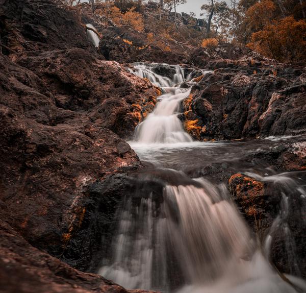Kureelpa Falls by AureShots