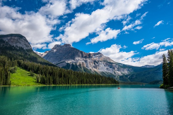 Emerald Lake by Aurelio Matthew Leal