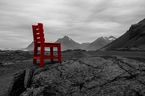 The Red Chair  by Aurelio Matthew Leal