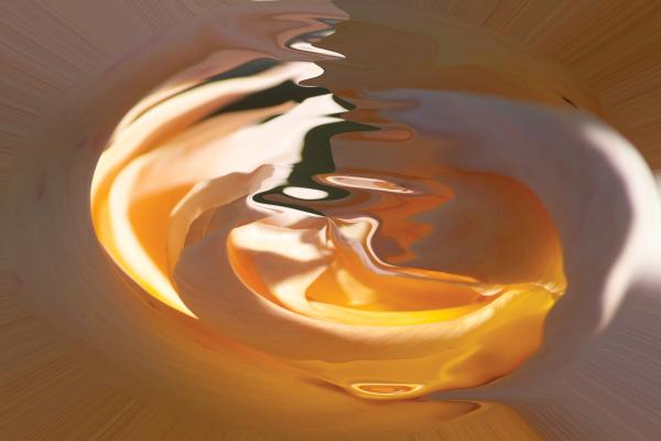 orange light shade by BBS Art