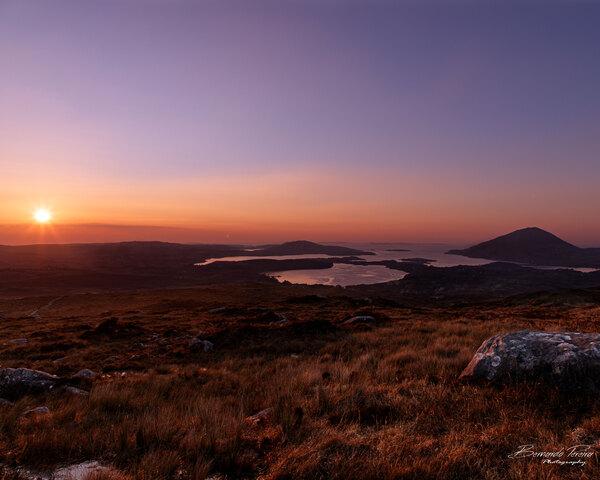 Connemara Sunset by BDLPhotography