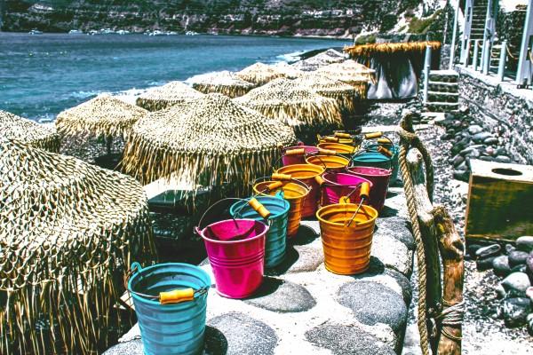 Landscape -  Buckets  by Bentivoglio Photography