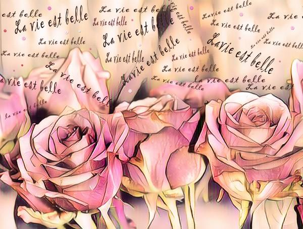 La vie est belle by Biji sylvie faucher