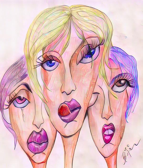 Attitude no.12 by Biji sylvie faucher