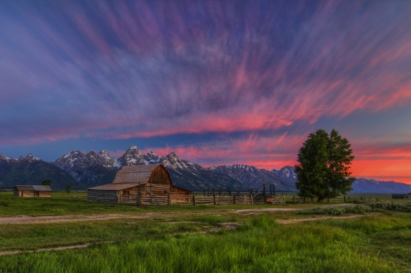 BENEATH TETON GLORY by Bill Sherrell