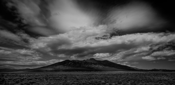 IMPENDING STORM - B&W by Bill Sherrell