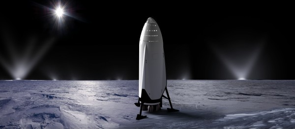 Interplanetary Transport System SpaceX 092716 by Bill Swartwout Photography
