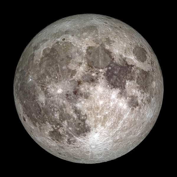 Full Moon Outer Space Image by Bill Swartwout Photography