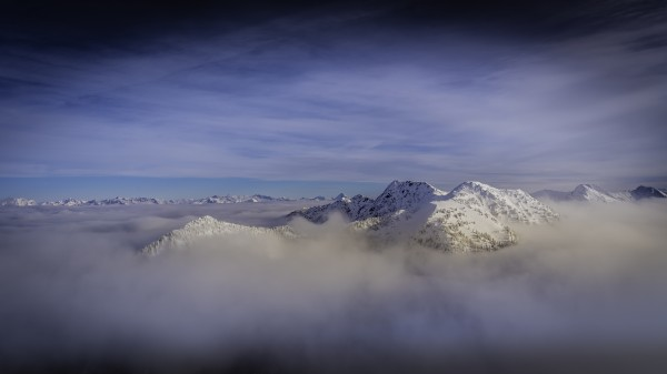 Alpine inversion Kootenay Back country  by Billy Stevens media