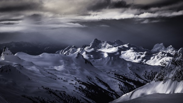 Mountain moods Whistler BC Back-country  by Billy Stevens media