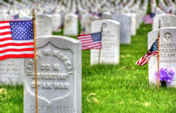 Memorial Flags by Bob Vogt