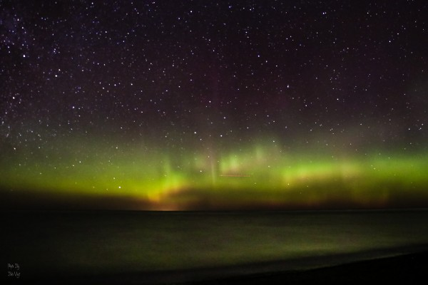 Michigan Northern Lights 2 by Bob Vogt