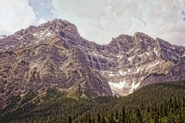 Cascade Mountain in Banff National Park BC by Boehm Photography