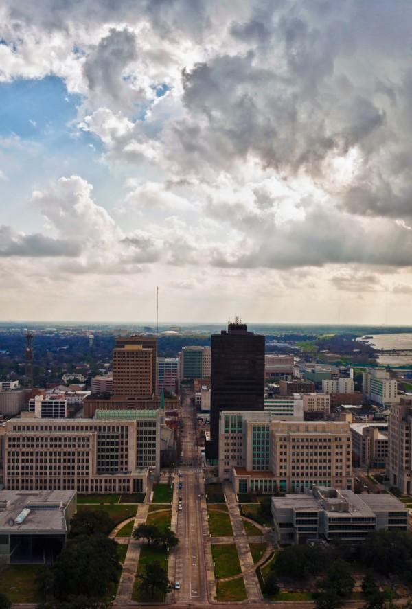Baton Rouge Skyline by Brad Jolly