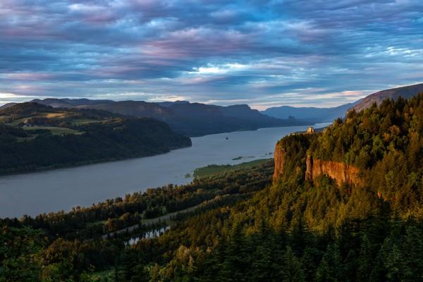 River Gorge Sunset by Brendan McMillan