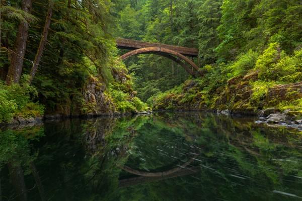 Wooden Bridge by Brendan McMillan