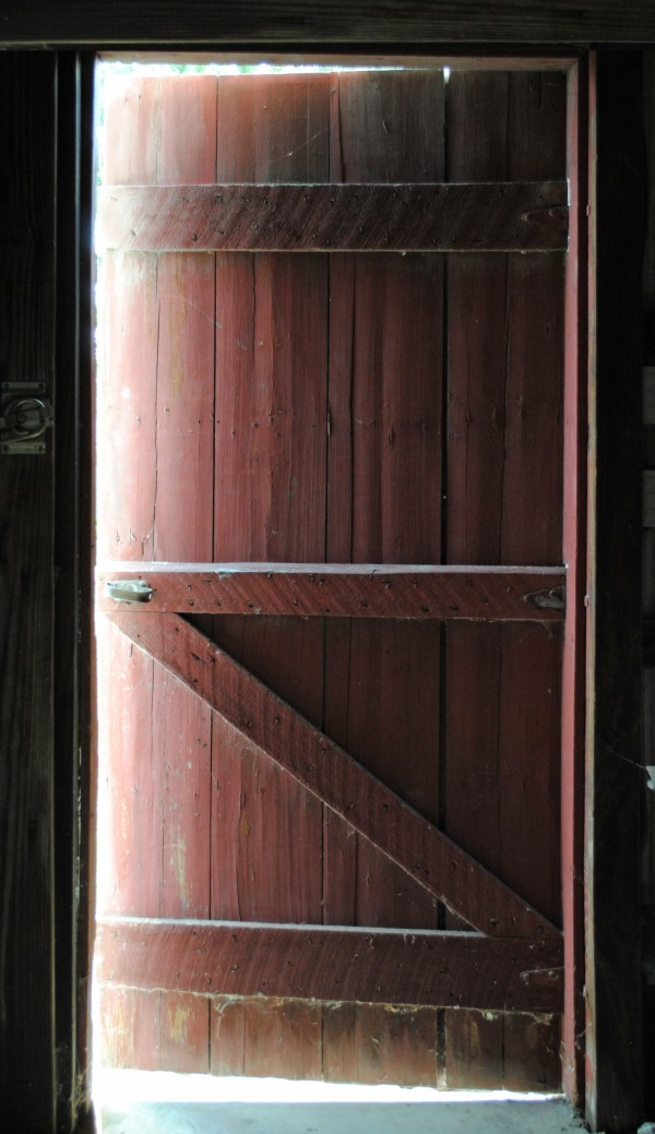 Barn Doors Open by Brent Luke Augustus