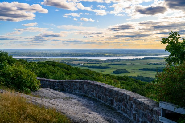 Gatineau Park Overlook by Brett P  May