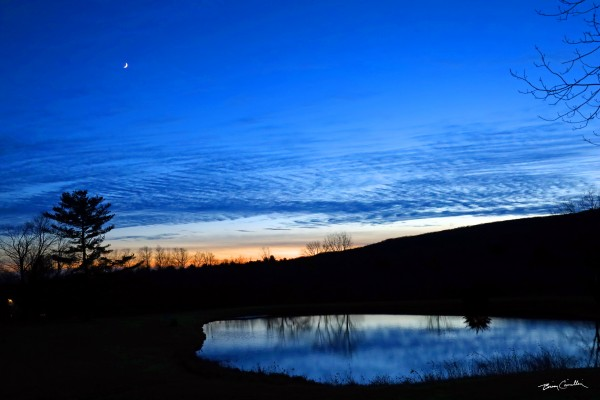 Cherry Brook Twilight by Brian Camilleri Photography