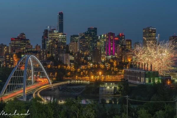 Yeg_Summer_Fireworks_DSC_9295 by Brian Macleod
