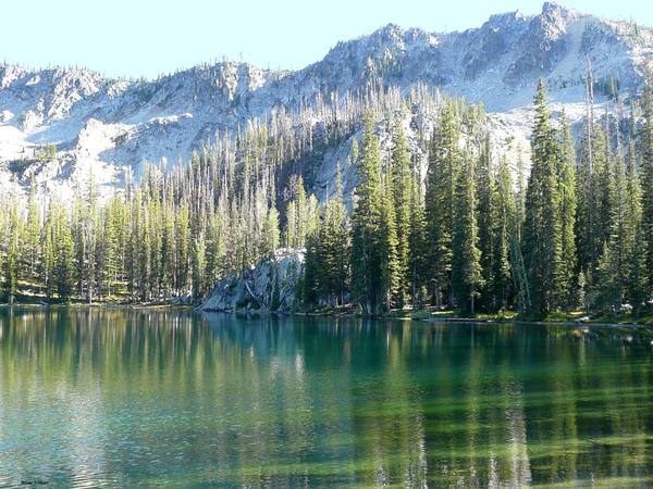 Soldier Lakes Reflections by Brian Shaw