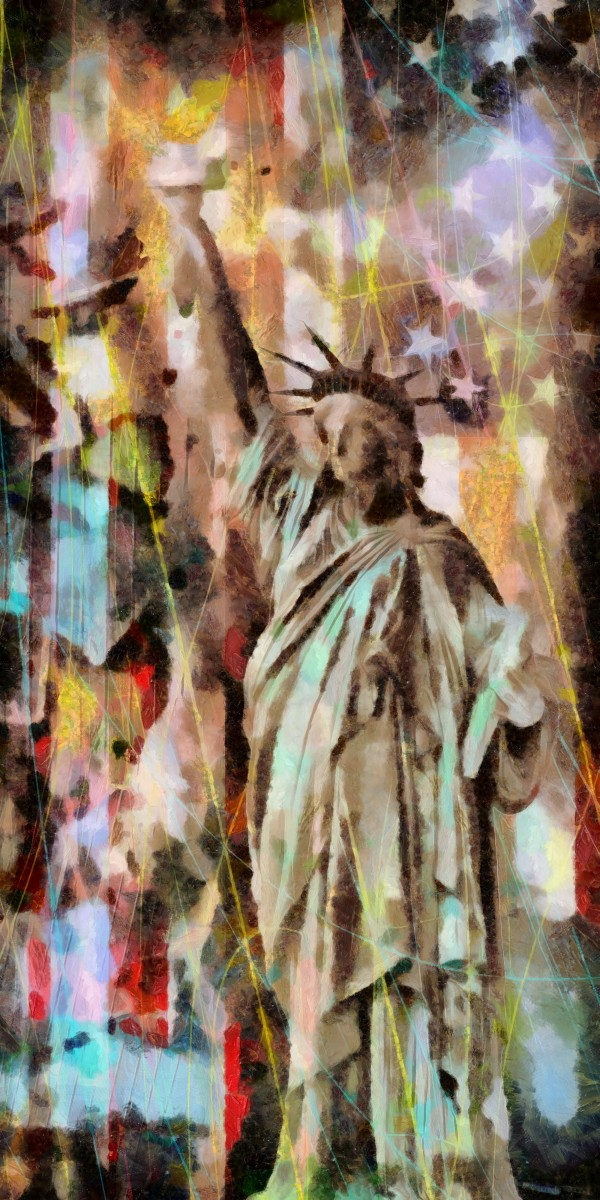 Statue of Liberty by Bruce Rolff