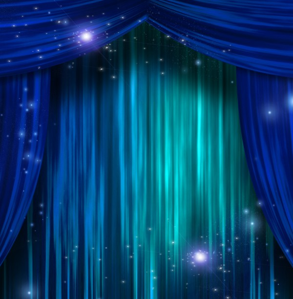 Theater Curtains by Bruce Rolff