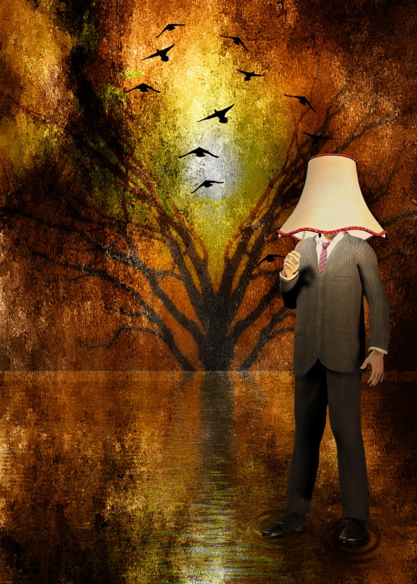 Lamp Man by Bruce Rolff