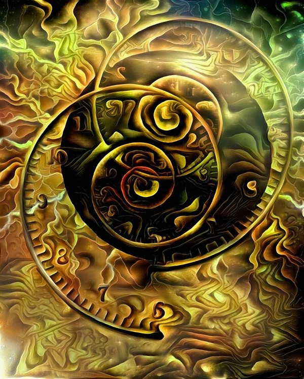 Spirals of Time by Bruce Rolff