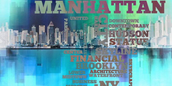 Manhattan harbor by Bruce Rolff