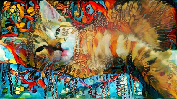 Lying Cat by Bruce Rolff