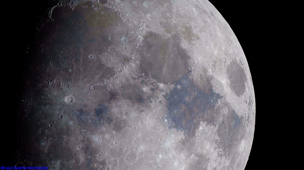 Ultra High Definition Image Of The Moon by Bruce Swartz