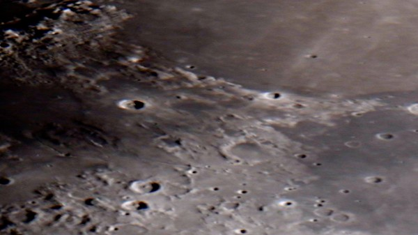 Mare Serenatatis On The Moon HD by Bruce Swartz