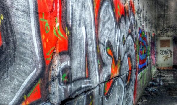 Abandoned Mental Asylum by Bruce Swartz